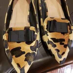 Asos WIDE leopard flats